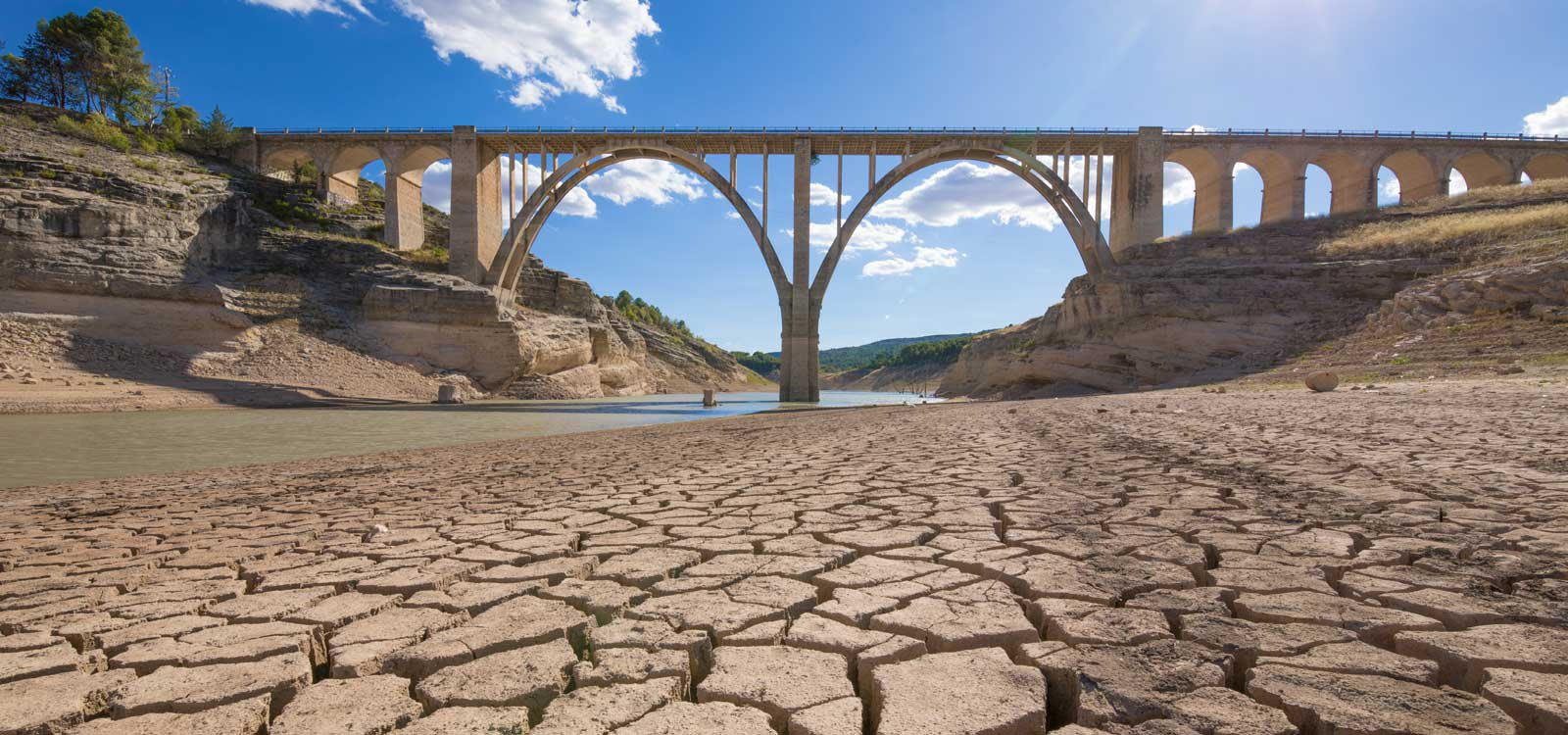 Extreme drought and reduced  hydropower across Europe